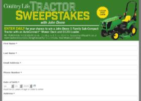 tractorsweepstakes.livingthecountrylife.com