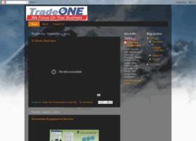 tradeoneinc.blogspot.com