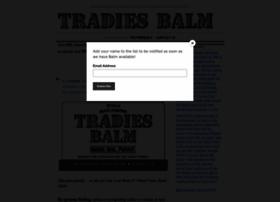 tradiesbalm.com