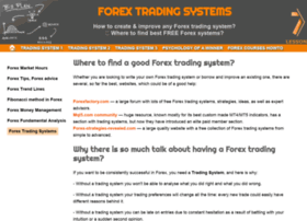 tradingsystemsforex.com