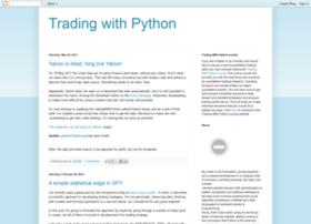 tradingwithpython.blogspot.com