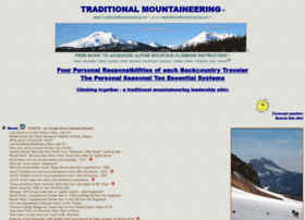 traditionalmountaineering.org