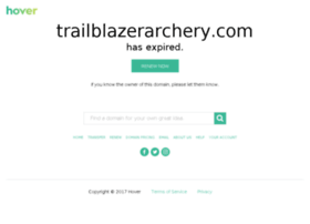 trailblazerarchery.com