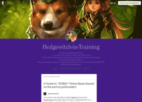 traineehedgewitch.tumblr.com