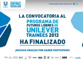 traineesunilever.com.mx