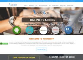 training.acutesoft.com