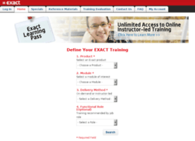 training.exactamerica.com