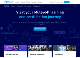 training.mulesoft.com