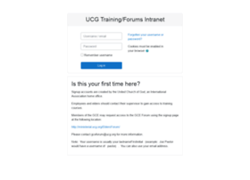 training.ucg.org