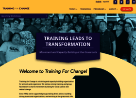 trainingforchange.org