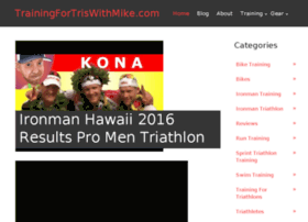 trainingfortriathlonswithmike.com