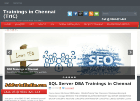 trainingsinchennai.com