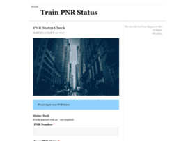 trainpnrstatus.co.in