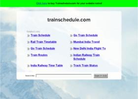 trainschedule.com