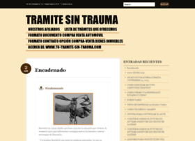 tramitesintrauma.wordpress.com