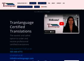 tranlanguage.com