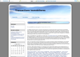 transactions-immobiliere.blogueuse.fr