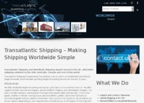 transatlantic-shipping.co.uk