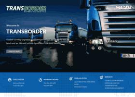 transborder-logistics.com
