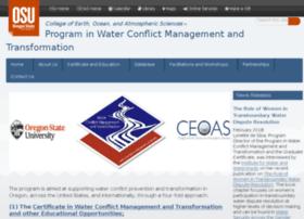 transboundarywaters.orst.edu