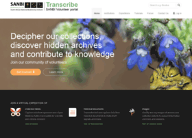 transcribe.sanbi.org