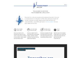 transcriber-pro.com