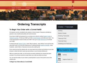 transcript.cornell.edu