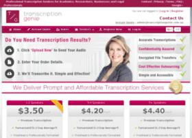 transcriptiongenie.com.au
