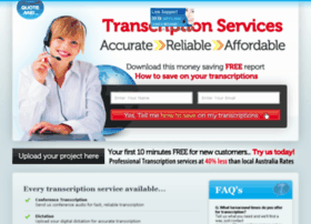 transcriptionservices.net.au
