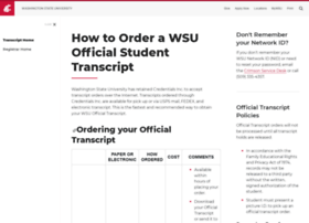 transcripts.wsu.edu