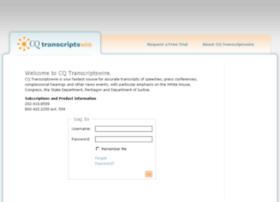 transcriptswire.cq.com