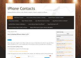 transfer-iphone-contacts.blogspot.in