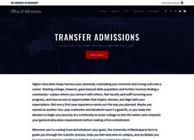 transfer.olemiss.edu