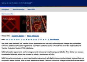 transfer.sjsu.edu