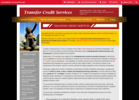 transfercredit.umd.edu