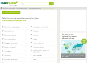transformation-alimentaire.europages.fr