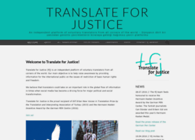 translateforjustice.com