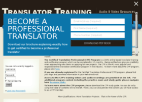 translatortraining.com