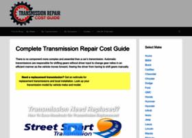transmissionrepaircostguide.com
