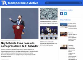 transparenciaactiva.gob.sv