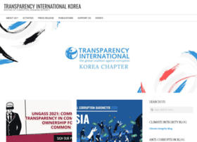 transparency-korea.org