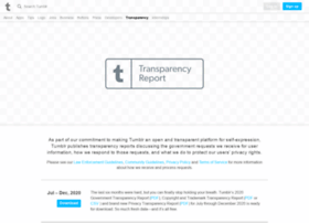 transparency.tumblr.com