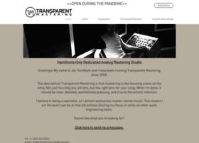 transparent-mastering.com