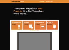 transparentplayer.com
