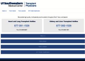 transplantrefs.utswmedicine.org