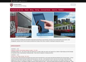 transportation.harvard.edu