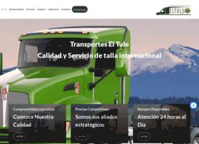 transporteseltule.com