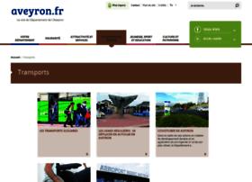 transports.aveyron.fr