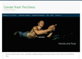 trashthedresscenote.com