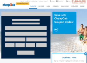 travel-coupons.cheapoair.com